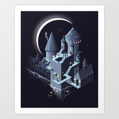 Monumental Harry Art Print