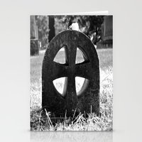 Cross of stone Stationery Cards