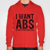 I Want Abs...olutely Eve… Hoody