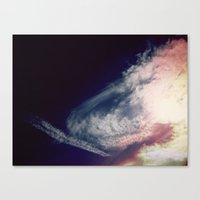 color sky 2 Canvas Print