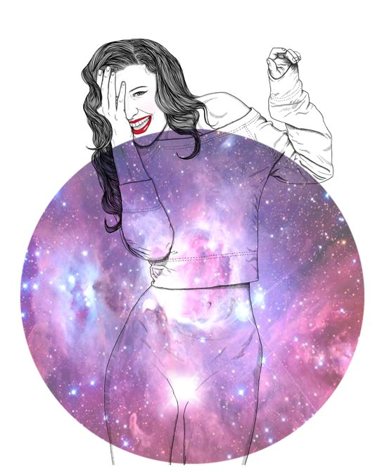 We Are All Made of Stardust #1 Art Print