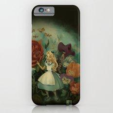 La fiesta del jardín por las tardes iPhone 6s Slim Case