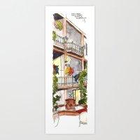 Fifth Street  Art Print