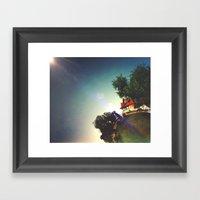 My Tiny World Framed Art Print