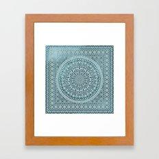 BOHO MANDALA BANDANA Framed Art Print