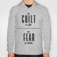 No Guilt, No Fear Hoody