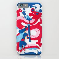 iPhone & iPod Case featuring Dragon Slayer by Jacopo Rosati
