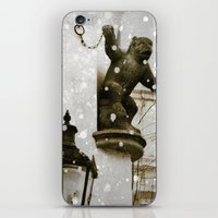 Prague  Gargoyle iPhone & iPod Skin