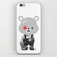 Bruised Bear iPhone & iPod Skin