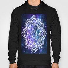 Mandala: Violet & Teal Galaxy Hoody