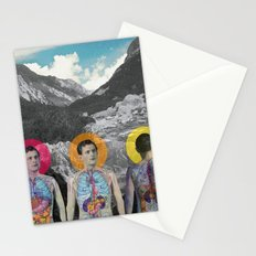 MOUNTAIN ANATOMY Stationery Cards