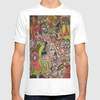 Miles Davies Mens Fitted Tee White SMALL