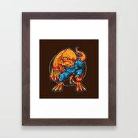 Warning! Betrayal! Framed Art Print