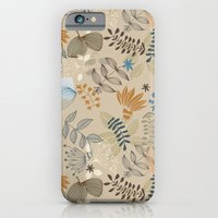 floral pattern iPhone & iPod Cases featuring Floral pattern by De Assuncao création