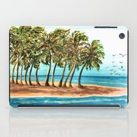 Private Island Painting iPad Case