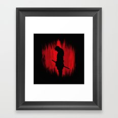 The Way Of The Samurai W… Framed Art Print