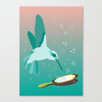 Can You See The Music Canvas Print