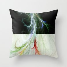 Lightning Dance Throw Pillow