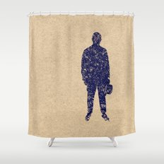 - closer to the sea - Shower Curtain