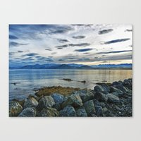 Dusk Over South Bay, New… Canvas Print