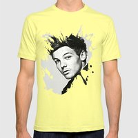 Louis Tomlinson Mens Fitted Tee Lemon SMALL