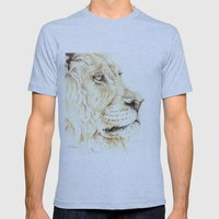 The Lion Mens Fitted Tee Athletic Blue SMALL