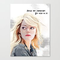 You're Not Important. Canvas Print