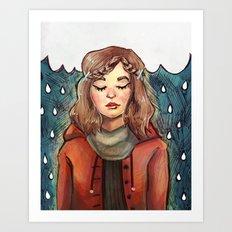 Rain Art Print