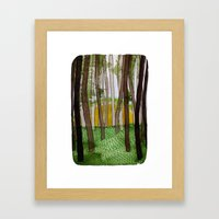 Landscapes / Nr. 5 Framed Art Print