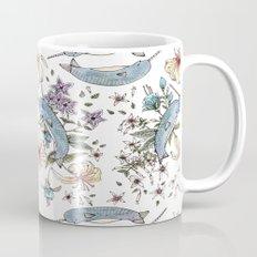 Narwhal pattern Mug