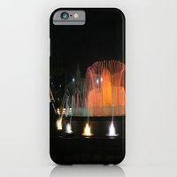 iPhone & iPod Case featuring Barcelona Fountain by Kim Ramage