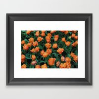 Sensual Touch Framed Art Print