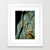 Falling Stars Framed Art Print