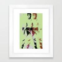 FPJ green machine Framed Art Print