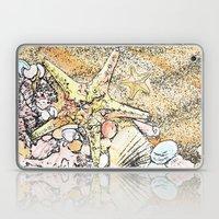 Starfish on the beach  Laptop & iPad Skin