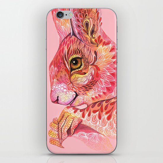 The squirrel magic  iPhone & iPod Skin