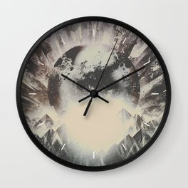 Wall Clock - New day new mountains to climb - HappyMelvin