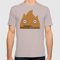 Howl's Moving Castle Pos… Mens Fitted Tee Cinder SMALL