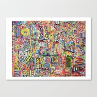 Adventures in Everything Canvas Print
