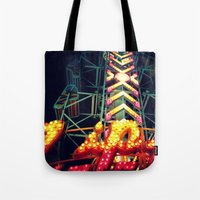 Carnival Lights, The Zip… Tote Bag