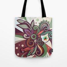 Floral curves II Tote Bag