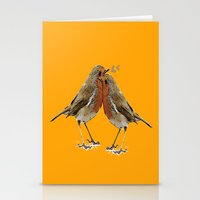 Cute Birds Stationery Cards