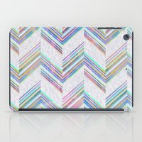 Lilli Chevron {light} iPad Case