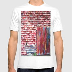 The Boathouse White Mens Fitted Tee SMALL