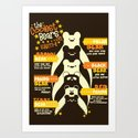 The Coolest Bear on Earth Art Print