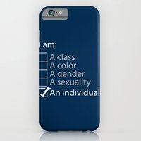 I Am An Individual. iPhone 6 Slim Case