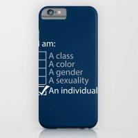 I Am An Individual. iPhone 6 Slim Case