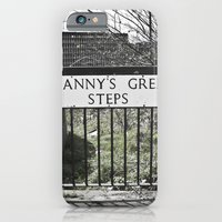 iPhone & iPod Case featuring Granny's Green Steps by Junkyard Doll