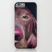 iPhone & iPod Case featuring I've Got An Eye On You by Roger Wedegis