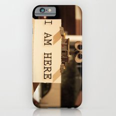 WALL-E    -  I AM HERE iPhone 6 Slim Case